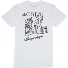 Obey Midnight Angels T-Shirt - White