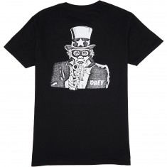 Obey Uncle Sham T-Shirt - Black