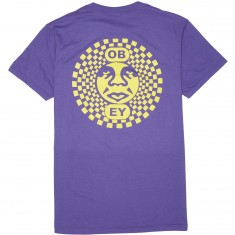 Obey Dance Party T-Shirt - Purple