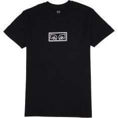 Obey Eyes T-Shirt - Black