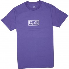 Obey Eyes T-Shirt - Purple