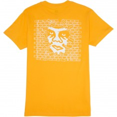Obey Creeper Wall T-Shirt - Gold