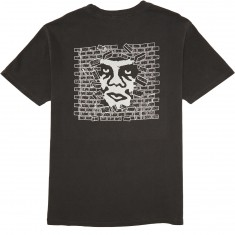 Obey Creeper Wall Box Pigment T-Shirt - Dusty Black