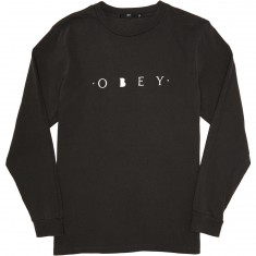 Obey Novel Obey T-Shirt - Dusty Black