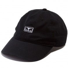 Obey Big Boy 6 Panel Hat - Black