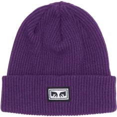 Obey Subversion Beanie - Dark Purple