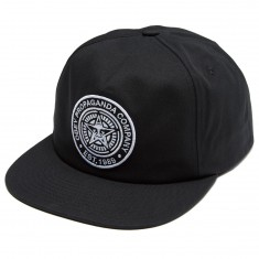 Obey Established 89 Snapback Ii Hat - Black