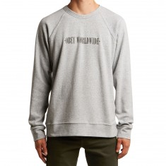 Obey New Times Hoodie - Athletic Heather Grey