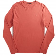 Obey Jumbled Pigment Longsleeve T-Shirt - Dusty Coral