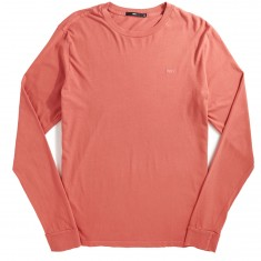 Obey Jumbled Pigment Longsleeve T-Shirt - Dusty Dark Rose