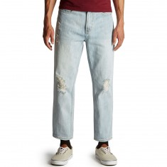 Obey Bender 90s Jeans - Destroyed Indigo