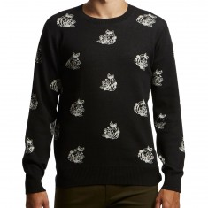 Obey Shepard Rose Sweater - Black Multi