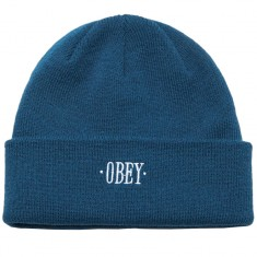 Obey Times Beanie - Deep Teal