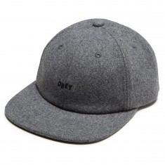 Obey Kilson 6 Panel Hat - Heather Grey