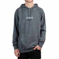 Obey Creep Scan Hoodie - Dusty Black