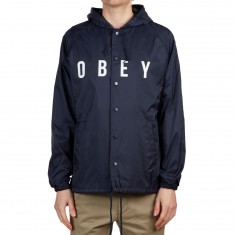 Obey Anyway Jacket - Navy