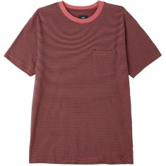Obey Wisemaker Pocket T-Shirt - Rose Multi