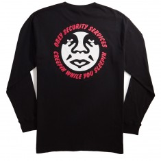 Obey Security Services Longsleeve T-Shirt - Black