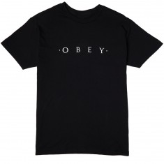 Obey Novel Obey T-Shirt - Black