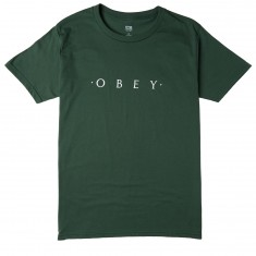 Obey Novel Obey T-Shirt - Forest Green