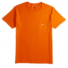 Obey Jumbled Pocket T-Shirt - Orange