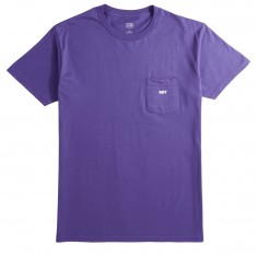 Obey Jumbled Pocket T-Shirt - Purple