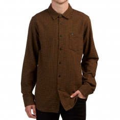 Obey Outsider Longsleeve Shirt - Rust Multi