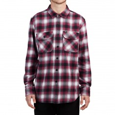 Obey Mission Longsleeve Shirt - Rasberry Multi