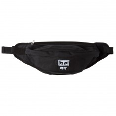 Obey Drop Out Sling Pack Bag - Black