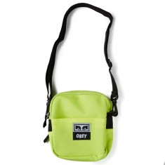 Obey Drop Out Traveler Bag - Saftey Green