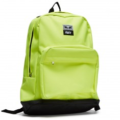 Obey Drop Out Juvee Backpack - Saftey Green