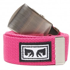 Obey Big Boy Web Belt - Magenta
