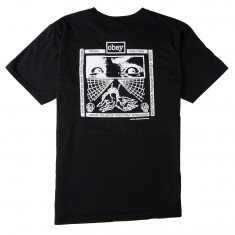 Obey Shockbound T-Shirt - Black
