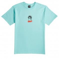 Obey Heavy Duty Creeps T-Shirt - Celadon