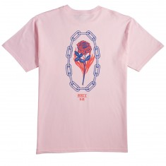 Obey Rosette T-Shirt - Pink