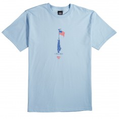 Obey Land Of Oppurtunity T-Shirt - Powder Blue