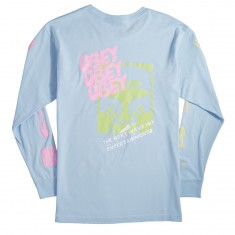 Obey The Next Wave Longsleeve T-Shirt - Powder Blue
