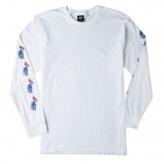 Obey Passion Longsleeve T-Shirt - White