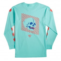 Obey Wall Of Death Longsleeve T-Shirt - Celedon