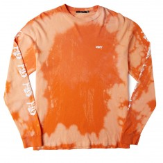 Obey The Creeper Longsleeve T-Shirt - Orange