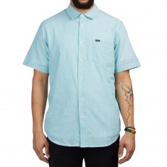 Obey Towne Shirt - Teal Multi