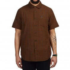 Obey Aston Shirt - Brown Multi