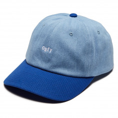 Obey Wardlow 6 Panel Snapback Hat - Royal