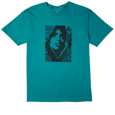 Obey Bias By Numbers T-Shirt - Teal