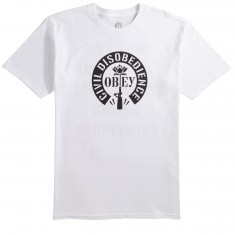 Obey Civil Disobedience T-Shirt - White