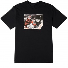 Obey Outside Agitators T-Shirt - Black