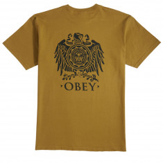Obey Broken Eagle T-Shirt - Tapenade