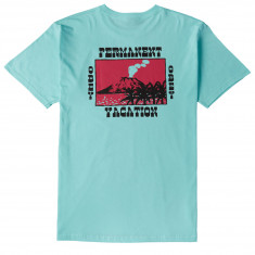 Obey Permanent Vacation T-Shirt - Celadon
