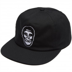 Obey X Misfits Caress Snapback Hat - Black