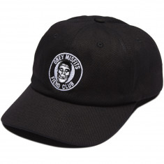 Obey X Misfits Fiend Club 6 Panel Hat - Black